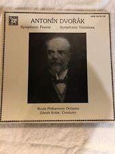 CLASSICAL LP BOX SET 3 THREE RECORDS DVORAK SYMPHONIC POEMS VARIATIONS KOSLER