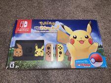 Nintendo Switch Pikachu/Eevee Edition/Pokemon: Let's Go Eevee! Bundle