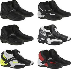 Alpinestars S-MX 1R Boots - Motorcycle Street Bike Riding Touring Shoes Mens