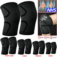 Knee Leg Support Sports Running Gym Elastic Sleeve for Joint Pain Sprain Injury