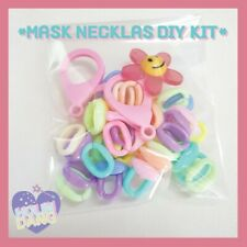 Mask Necklace DIY Kit 1 Set Lanyard Chain Strap Accessories Promotion Gift