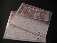 Creative Memories 10 x 12 Paper Printed Vellum Paper Pack 6 sheets