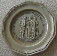 A Spoonful Of Honey... - Franklin MInt Miniature Collectible Plate - VGC BRONZE
