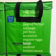 Amazon Fresh Reusable Folding Green Tote Bag - Collectible, Discontinued, Prime