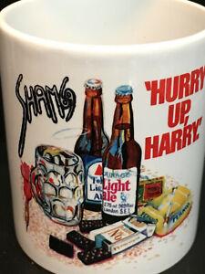 Sham 69 - Hurry Up Harry - Coffee Mug : Brand New : Punk, Oi, Jimmy Pursey