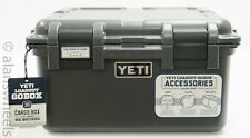 BRAND NEW YETI Loadout GoBox 30 Charcoal Cargo Box Case Waterproof Free Shipping