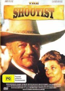 The Shootist DVD John Wayne New and Sealed Australian Release