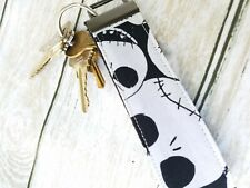 Jack Skellington fabric keychain