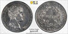 FRANCE 1 FRANC AN 12-A 1803 NAPOLEON, PCGS AU Details, Free Shipping