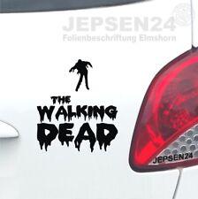 2 x JDM OEM The Walking Dead Michone sword Aufkleber Tuning sticker decal 20 cm