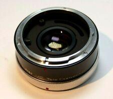 Vivitar 2X Lens Teleconverter Extender for Canon FD/FL manual focus Multi-coated