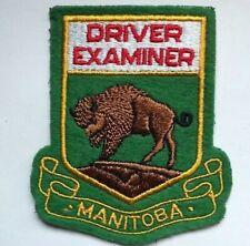 Vintage Driver Examiner Manitoba Patch