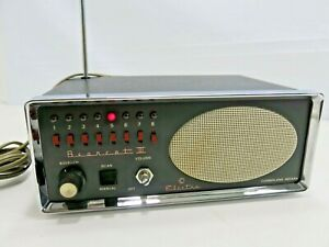 Bearcat III Electra 8 Channel Receiver Police Fire Scanner Radio Vintage