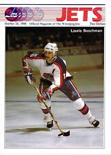 1988 Winnipeg Jets Home vs Los Angeles Kings NHL Hockey Program #121