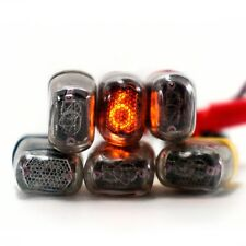 6x IN-17 nixie tubes USSR indicators for DIY clock NOS