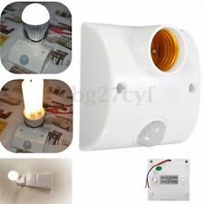 E27 Automatic PIR Infrared Motion Sensor LED Light Lamp Holder Control Switch
