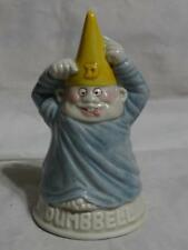 Fitz & Floyd Dunce Hat Boy Figurine  Bell That Says Dumbbell 5 1/8 Inches Tall
