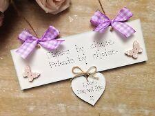 Personalised Sister Birthday Gift Handmade Wooden Keepsake Present Plaque Sign