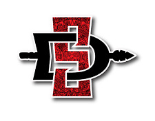 "SDSU San Diego State University Aztecs Calendar 5"" Custom Vinyl Decal Sticker"