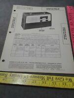 1947 CHANCELLOR 35P battery line RADIO Photofact schematic SERVICE MANUAL