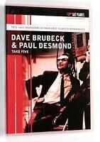 DAVE BRUBECK & PAUL DESMOND TAKE FIVE Live '75 DVD Salt Peanuts 2001 Musica Jazz