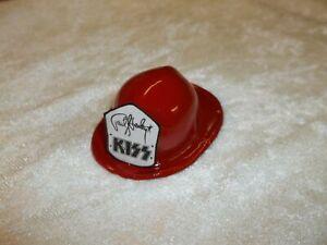 KISS PAUL STANLEY 1/6 FIGURE SCALE CUSTOM MINIATURE FIREHOUSE RED MINI DOLL HAT