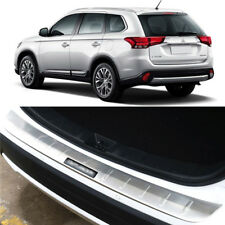 Stainless Rear Bumper Protector Sill Plate for 2016-2017 Mitsubishi Outlander