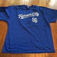 2XL  MLB Kansas City Chiefs, #16 Butler blue XXL, t-shirt Genuine Merchandise