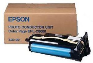 Original Fotoleiter EPSON EPL-C8000 C8200 / S051061 Trommel Photoconductor Unit