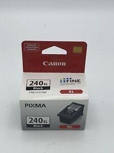 240 XL Black Printer Ink Cartridge for Canon Pixma. FREE USA SHIPPING
