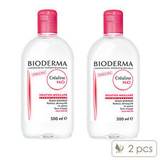 Pack of 2 Bioderma Crealine H2O Ultra-Mild Non-Rinse Cleanser Face & Eyes#1529_2