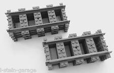 LEGO® City Eisenbahn Schienen 8x gerade Schienen 60205, 60238 NEU