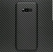 3D Textured Carbon Wood Chrome Gloss Skin Wrap Sticker Decal Case Samsung Galaxy