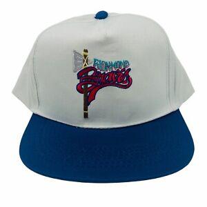 Richmond Braves Snapback Hat Minor League Baseball Cap - New Vintage Deadstock