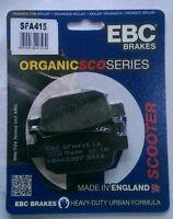 Honda SH300i (2007 to 2018) EBC Organic REAR Disc Brake Pads (SFA415) (1 Set)