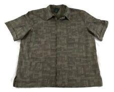 Scandia Woods Men Full Zip Shirt Lightweight Jacket Extra Large Green Tribal