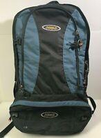 Asolo Navigator 80 Large Travel Pack Black/Blue 450D Honeycomb-600D Polyester-10