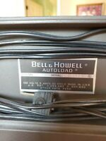 BELL & HOWELL #458 DUAL 8mm  Autoload Projector - Great Condition with Manual