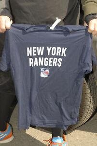 New York Rangers Adidas brand t shirt Med Designer cut Near mint NHL hockey