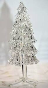 Craftfry Elegant Crystal Glass Chirstmas Tree for Chirstmas Day Ocassion Gifts
