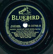 MUGGSY SPANIER Ragtime Band on 1940 Bluebird B-10766 - Mandy Make Up Your Mind