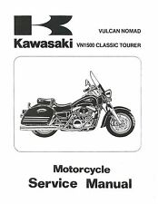 Kawasaki service manual 2000 & 2001 VULCAN NOMAD, VN1500 CLASSIC TOURER