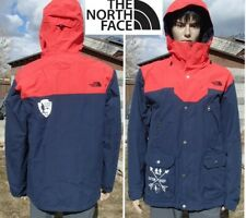 THE NORTH FACE waterproof ski jacket hooded snowboard shell vent zippers mens M