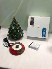 Holiday Celebrations Ceramic Xmas Lighted Holiday Tree by Christopher Radko New!