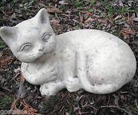 MOLD latex w plastic backup distressed cat mold