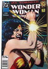 WONDER WOMAN- EL TORNEO, VOLUMEN 1, ZINCO 1995, EN ESPAÑOL EN MUY BUEN ESTADO.