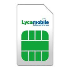 100 x anonym Prepaid NL Holland Sim Karte Komplete Data nutzbar im EU Lycamobile