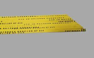 1 Stab Silberlot 1,5mm x 500mm AF 314 L-Ag 55 Sn Hartlot Flussmittel ummantelt