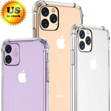 Clear Transparent TPU Case For iPhone 11,11 Pro Max Silicone Shockproof Cover US