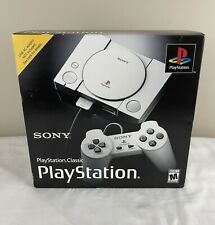 Authentic Sony PlayStation Classic Video Game Console Ps1 New Factory Sealed